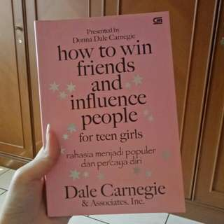 Buku Dale Carnegie - How to Win Friend & Influence People for teen girls