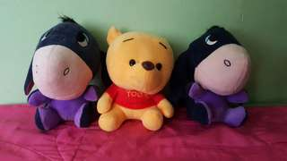 winnie the pooh and friends stuff toys