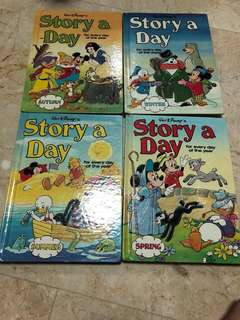 A set of Disney books