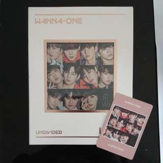 【Readystock】Wanna One undivided album