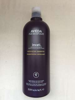 Used Authentic Aveda Exfoliating Shampoo
