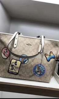 Original Coach X mickey Shoulder Bag