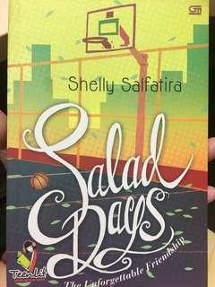 Novel salad days by shelly salfatira
