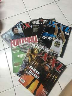 Various Basketball/Soccer magazine PM for Price