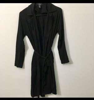 Long Belted Waterfall Cardigan (Forever 21)