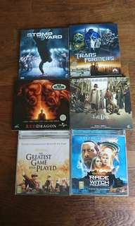 Cheap! 6 original vcds for sale!