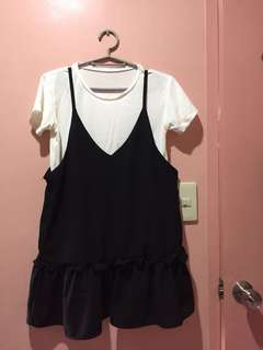 blouse with inner top