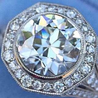 (2.22 Carats) Mossanite Diamond 💎  莫桑鑽石(祼石)