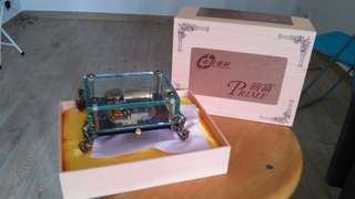 Glass music box 玻璃音樂盒