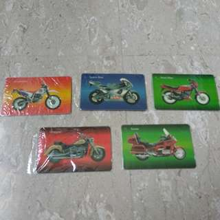 New Phone cards - Motorcycle series