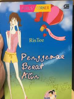 Novel penggemar berat Alin by RisTee
