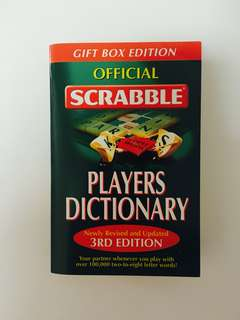 Official Scrabble Players Dictionary (3rd Edition)