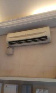 2hp York Aircond (Free delivery within klang valley)
