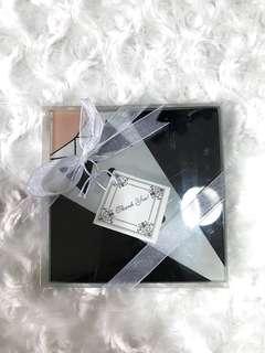 Wedding gift class coaster