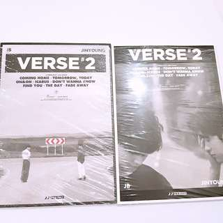 JJProject GOT7 JB Jinyoung Verse 2 album
