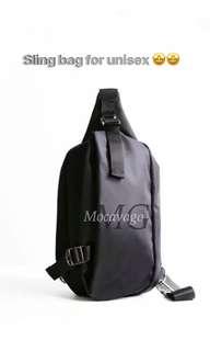 Sling bag for unisex