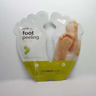Smile Foot Peeling By The Faceshop
