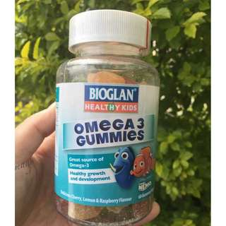🌸澳洲Bioglan Omaga 3魚油 軟糖 60顆  🌸 Australia Bioglan Omaga 3 Fish Oil Fudge 60