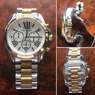 Oversized Michael Kors MK Watch