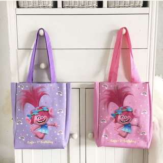 CUSTOM TOTE BAG trolls poppy branch