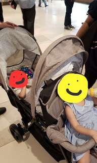Seebaby: Double stroller tandem pram