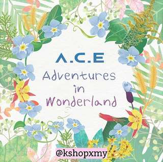 A.C.E 1st Repackaged Album - ' A.C.E Adventures In Wonderland '
