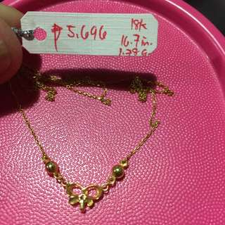 Bona fide Gold Necklace & Pendant