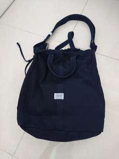 Porter deep blue 側咩袋