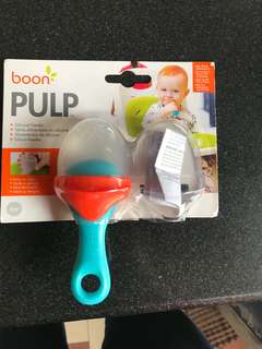 Boon Pulp Silicone Fruit Teether