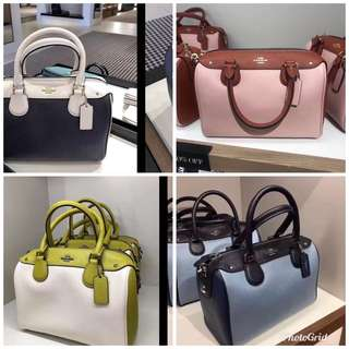 Original coach women Bennett bag handbag sling bag crossbody bag