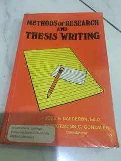Methods of Research and Writing