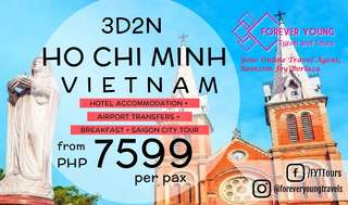 EXPERIENCE SAIGON VIETNAM WITH OUR 3D2N HO CHI MINH 2018 TOUR PACKAGE