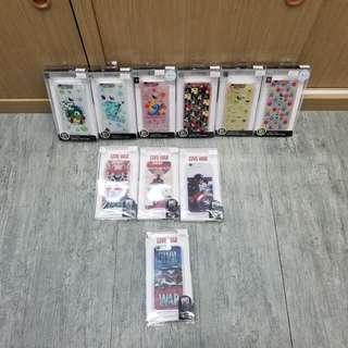 清貨 Sanrio marvel 系列 閃燈手機殼 原廠正貨