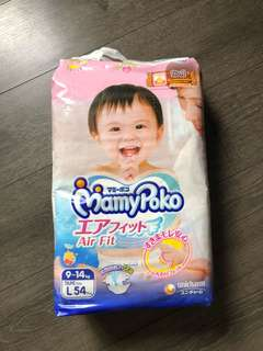 Mamypoko air fit diapers L size (moony)