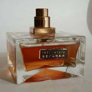 Intimately Beckham for Men by David Beckham 75ml EDT tester 85% full
