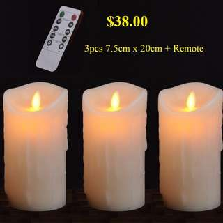Led Flameless Candle Lights