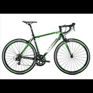 Tempo : 700C TRINX Aluminum Light Weight Racer Road Bikes ✩ Shimano 14 Speeds ✩ Brand New Bicycles