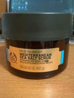 The Body Shop Mediterranean Sea Salt Scrub