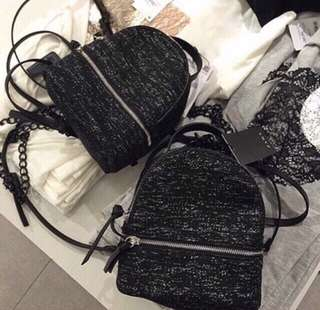 Zara Backpack glitter