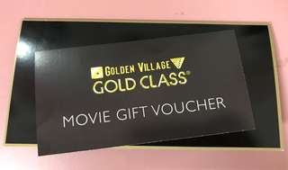 GV Gold Class Ticket X 1