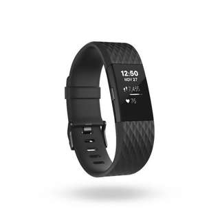 Fitbit Charge 2 gun black