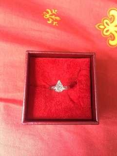 🈹🈹🈹🎁18金天然鑽石戒指,1.33Carat,有證書😍😍😍