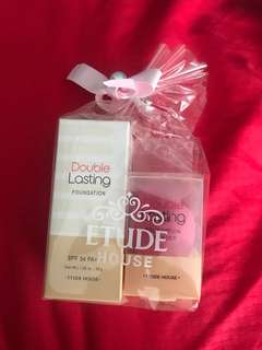 Etude House Double Lasting Foundation with Blender