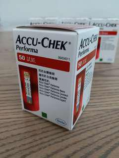 ACCU-CHEK 血糖檢測試紙