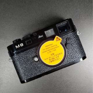 Leica M8.2 Body Only 黑色 黑漆 BP 露銅