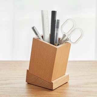 [PO] Minimalist Wooden Pen Holder