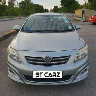 TOYOTA ALTIS 1.6 FOR RENT!