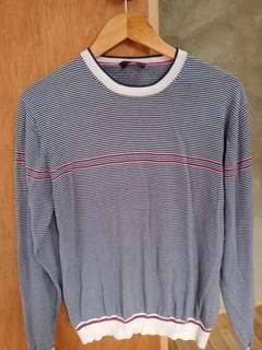 Sweat Shirt Stripes long sleeve jacket