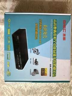 高清數碼電視全功能錄播多媒體機頂盒/HD Digital TV Recorder with Mutimedia Decode