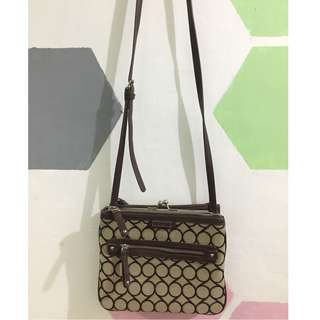 Sling bag/ pouch (Brown - Nine West)